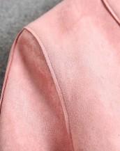sk-365 deri detaylı süet ceket omuz