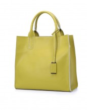 fıstık yeşili rengi yumuşak hakiki deri kol çantası sk5216