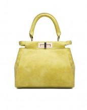 fularlı sarı deri çanta sk4480