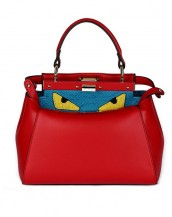 gerçek deri kırmızı çanta sk4265