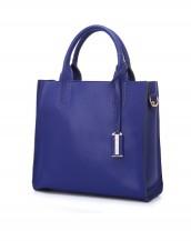 mavi renk yumuşak hakiki deri kol çantası sk5216