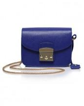 mavi zincirli küçük kol çantası sk5587