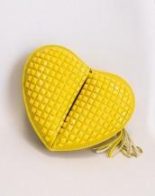 sarı küçük kalp çanta sk4860