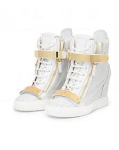 timsah derisi beyaz sneaker sk4629