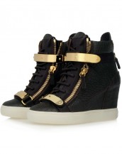 timsah derisi siyah beyaz sneaker sk4629