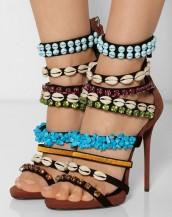 yüksek topuklu sandalet sk4614