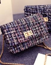 zincirli küçük pembe mini kol çantası sk5263