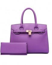 mor ünlü marka kol el çantası sk6544