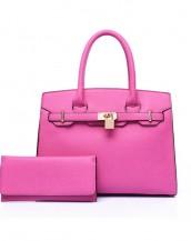 pembe ünlü marka kol el çantası sk6544