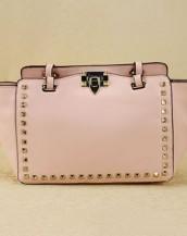 pudra zımbalı trapeze kol çantası sk6309