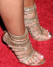taş işlemeli yüksek topuklu sandalet sk6516