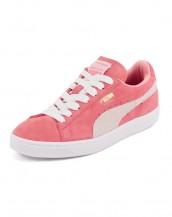 bayan puma klasik süet pembe spor ayakkabı sk8579
