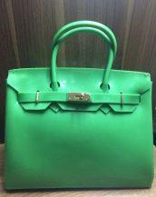 fularlı yeşil silikon kol çantası sk10568