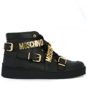 skl15695 siyah moschino sneaker ayakkabı