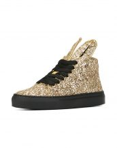 minna parikka altın payetli bayan sneaker skl17473