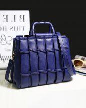 lacivert saplı bayan omuz çantası sk24289