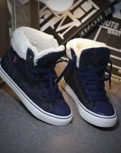 içi peluş kot sneaker sk-1006