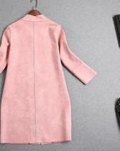 sk-365 deri detaylı süet ceket arkadan