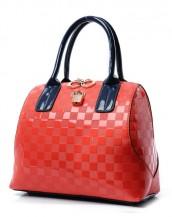 rugan kırmızı kol çantası sk4748