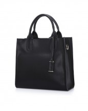 siyah renk yumuşak hakiki deri kol çantası sk5216