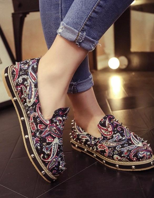 zımbalı deri ayakkabı sk3765