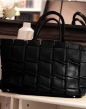 gerçek deri siyah tasarım kol çantası sk7936