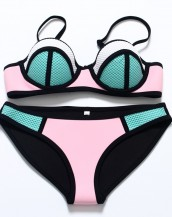 pudra pembe brazilian balenli bikini sk7643