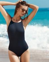sırtı açık seksi siyah bikini mayokini sk7570