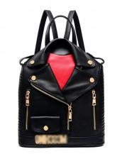 siyah ceket görünümlü sırt çantası sk5794