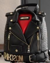 siyah ceket görünümlü sırt çantası sk6204