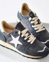 star bağcıklı gri spor ayakkabı sk7975