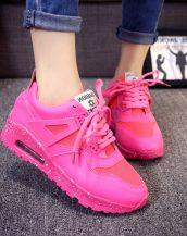 rahat pembe bayan spor ayakkabı sk10127