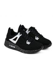 siyah beyaz rahat spor ayakkabı model 3 sk10127