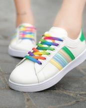 renkli ayakkabı