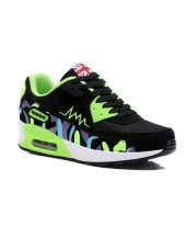 yeşil air taban bayan spor ayakkabı sk10386