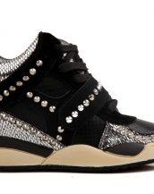 zımbalı bayan spor sneaker ayakkabı