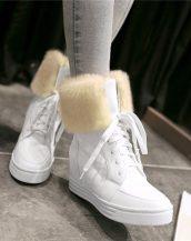 sk14331 beyaz tarz sneaker bot