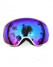 beyaz çift lens unisex kayak gözlüğü modelleri sk15055