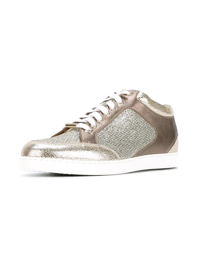 jimmy choo miami bronz sneaker ayakkabı skl15631