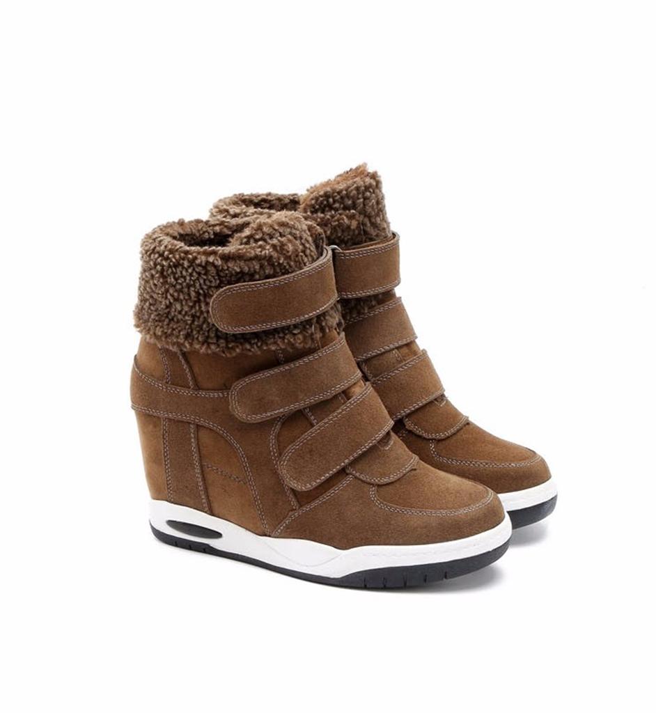 Kahverengi Süet Sneaker