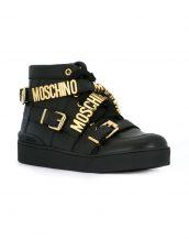 siyah moschino bayan sneaker skl15695