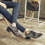 sk16406 siyah zımbalı oxford ayakkabı