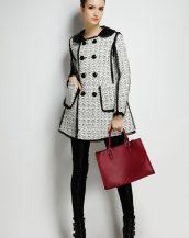 bayan yün ceket modelleri sk16942