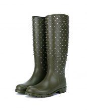 saint laurent haki yağmur çizmesi skl17666