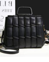 siyah saplı bayan omuz çantası sk24289