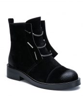 siyah içi tüylü eskitme bot sk26866